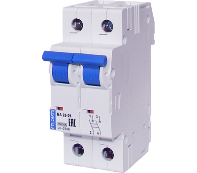 Выключатель автоматический ВА25-29 B1+N-1,6 УХЛ3, фото 1